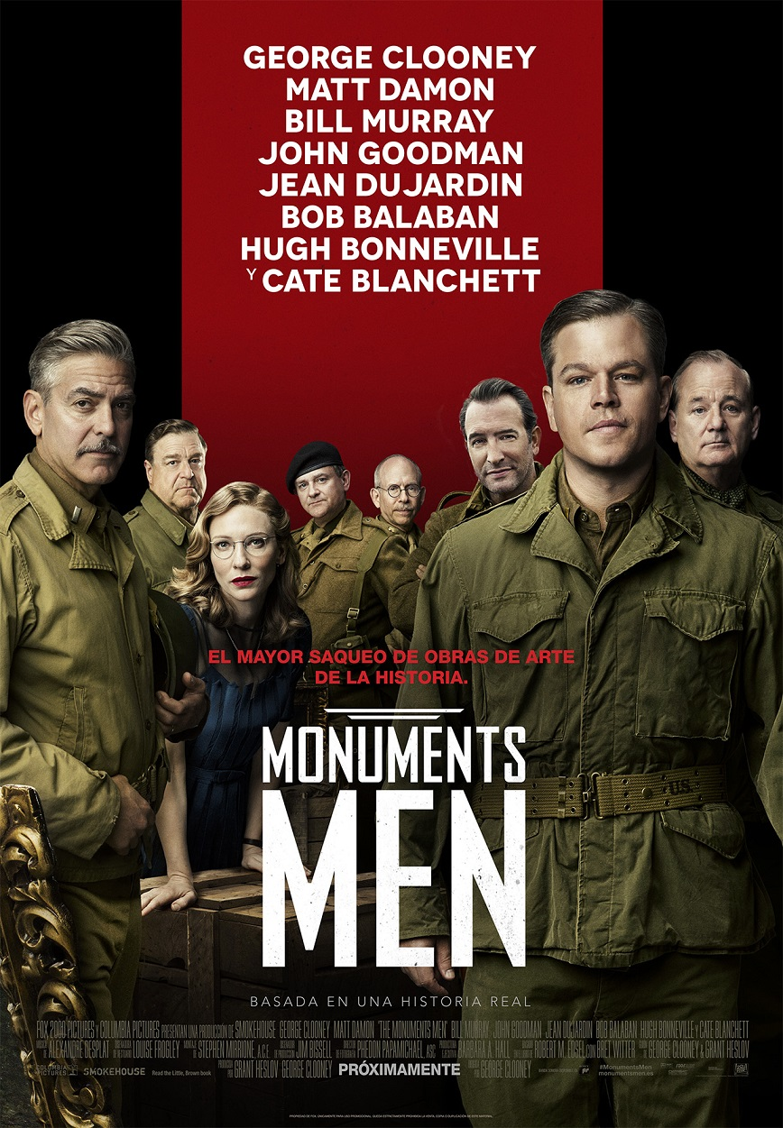 MONUMENTS MEN DIGT