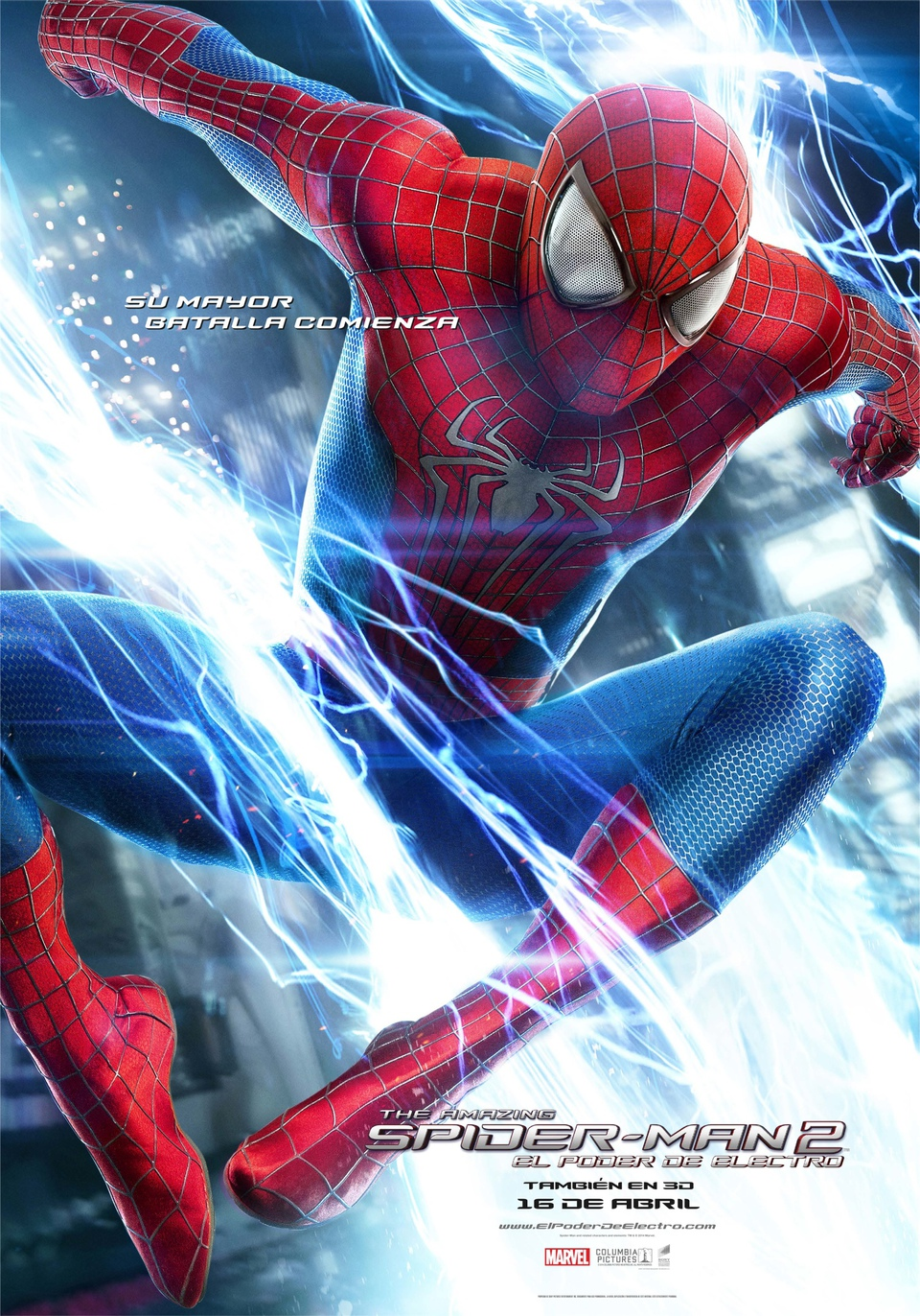 THE AMAZING SPIDER-MAN 2.EL PODER DE ELECTRO