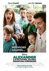 ALEXANDER Y EL DIA TERRIBLE, HORRIBLE, ESPANT DIGT