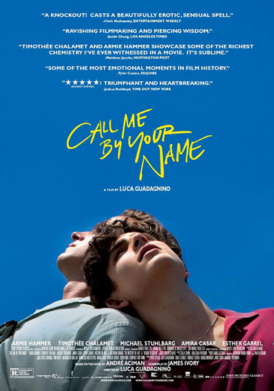 CALL ME BY YOUR NAME V.O.S