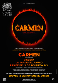 CARMEN/ VISCERA/ AFTERNOON OF FAUN BALLET UCC 2015