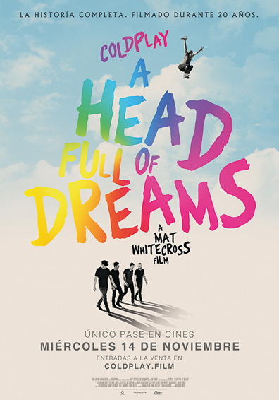 COLDPLAY: A HEAD FULL OF DREAMS V.O.S