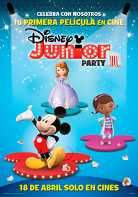 DISNEY JUNIOR PARTY DIGT