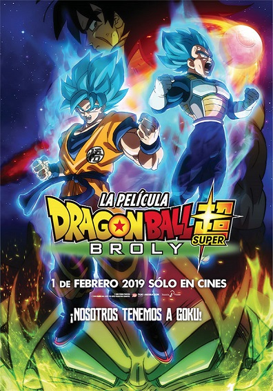 DRAGON BALL SUPER: BROLY V.O.S