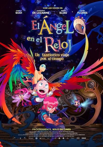 EL ANGEL EN EL RELOJ