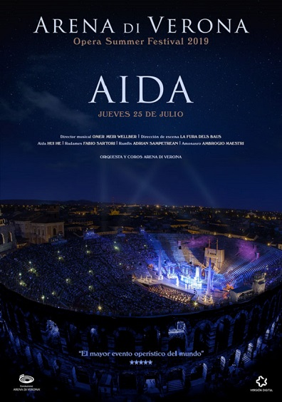 FESTIVAL ARENA DI VERONA - AIDA