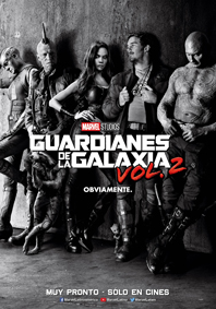 GUARDIANES DE LA GALAXIA VOL 2