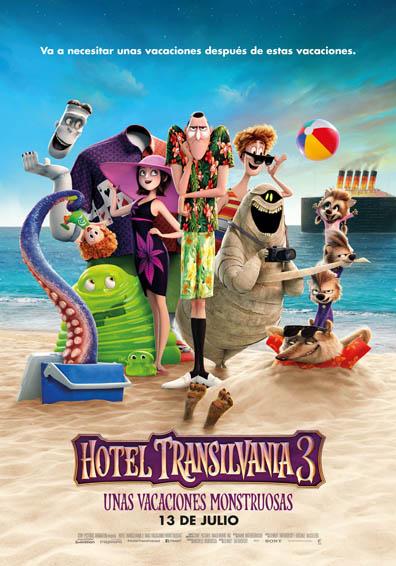 HOTEL TRANSILVANIA 3: UNAS VACACIONES... V.D.C