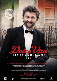 JONAS KAUFMANN DOLCE VITA OPERA UCC 2017