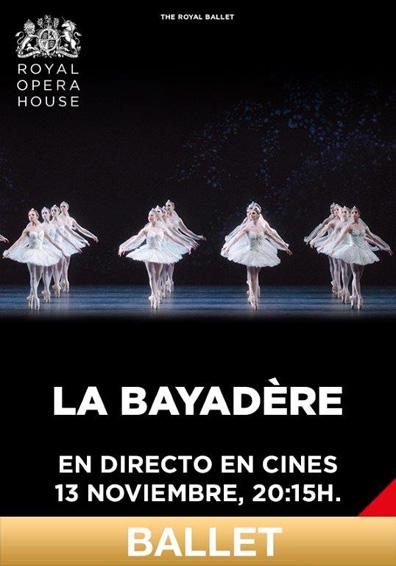 LA BAYADERE, MINKUS (BALLET LIVE)