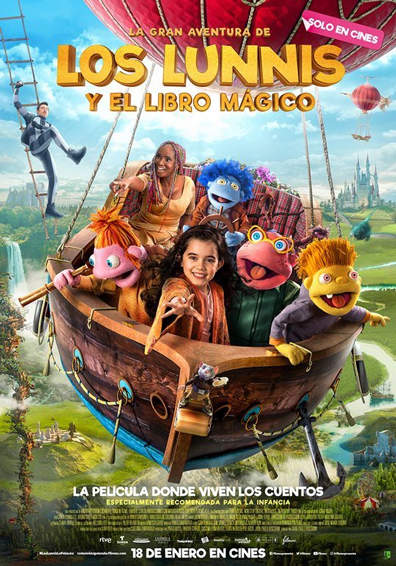 LA GRAN AVENTURA DE LOS LUNNIS Y EL LIBRO MAGICO