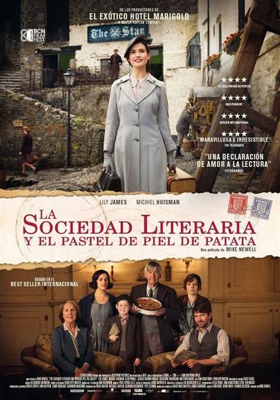 LA SOCIEDAD LITERARIA Y EL PASTEL DE PIEL DE PATAT