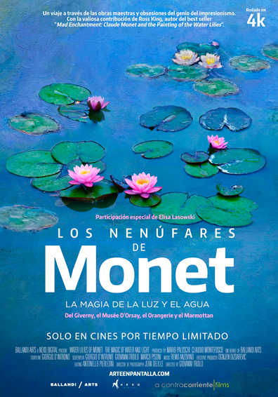 WATER LILIES OF MONET - THE MAGIC OF WATER AND LIG
