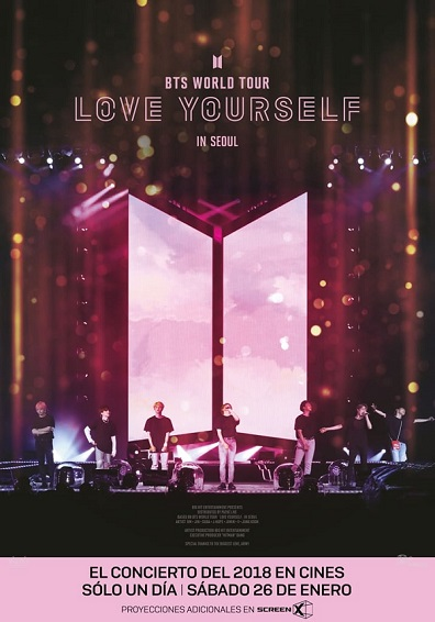 BTS WORLD TOUR LOVE YOURSELF IN SEOUL V.O.S