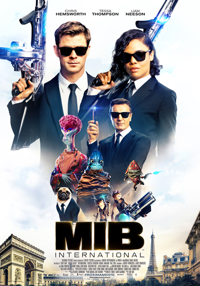 MEN IN BLACK INTERNATIONAL 3D
