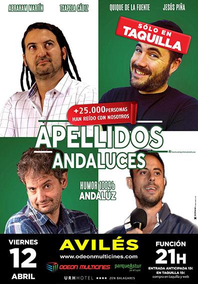 8 APELLIDOS ANDALUCES