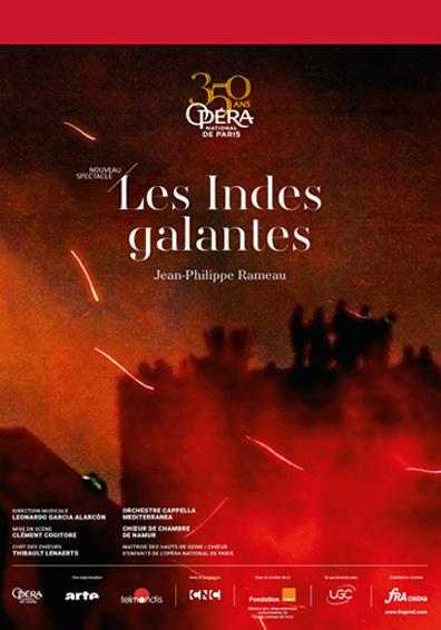 LES INDES GALANTES OPERA - BALLET  UCC 2019