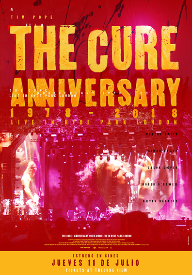 CONCIERTO ANIVERSARIO THE CURE