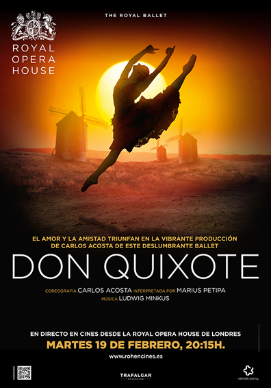 THE ROYAL BALLET DON QUIJOTE ARTE7 2019