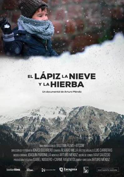EL LAPIZ, LA NIEVE Y LA HIERBA